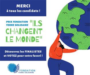 Prix fondation Terre Solidaire
