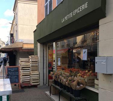 Visite de commerçants Montreuil 04/12/2020