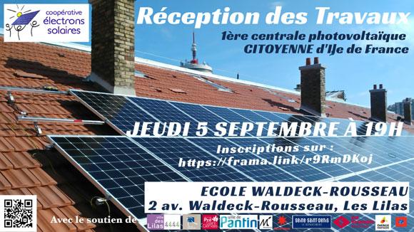 Livraison des travaux Waldeck-Rousseau 5 sept. 2019
